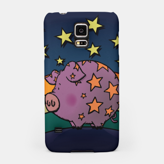 Thumbnail image of Peter the magic pig Samsung Case, Live Heroes