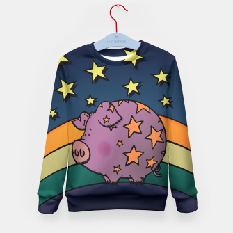 Thumbnail image of Peter the magic pig Kid's Sweater, Live Heroes