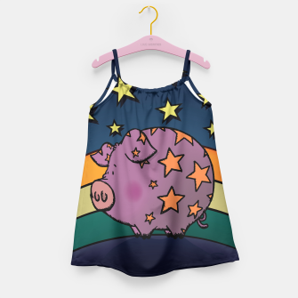 Thumbnail image of Peter the magic pig Girl's Dress, Live Heroes