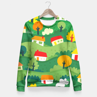 Thumbnail image of Home Land Fitted Waist Sweater, Live Heroes