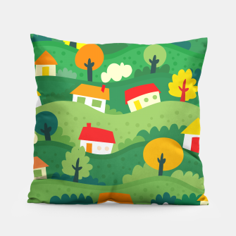 Thumbnail image of Home Land Pillow, Live Heroes