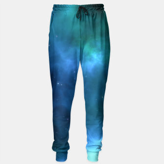 Blue Turquoise Galaxy  Sweatpants thumbnail image