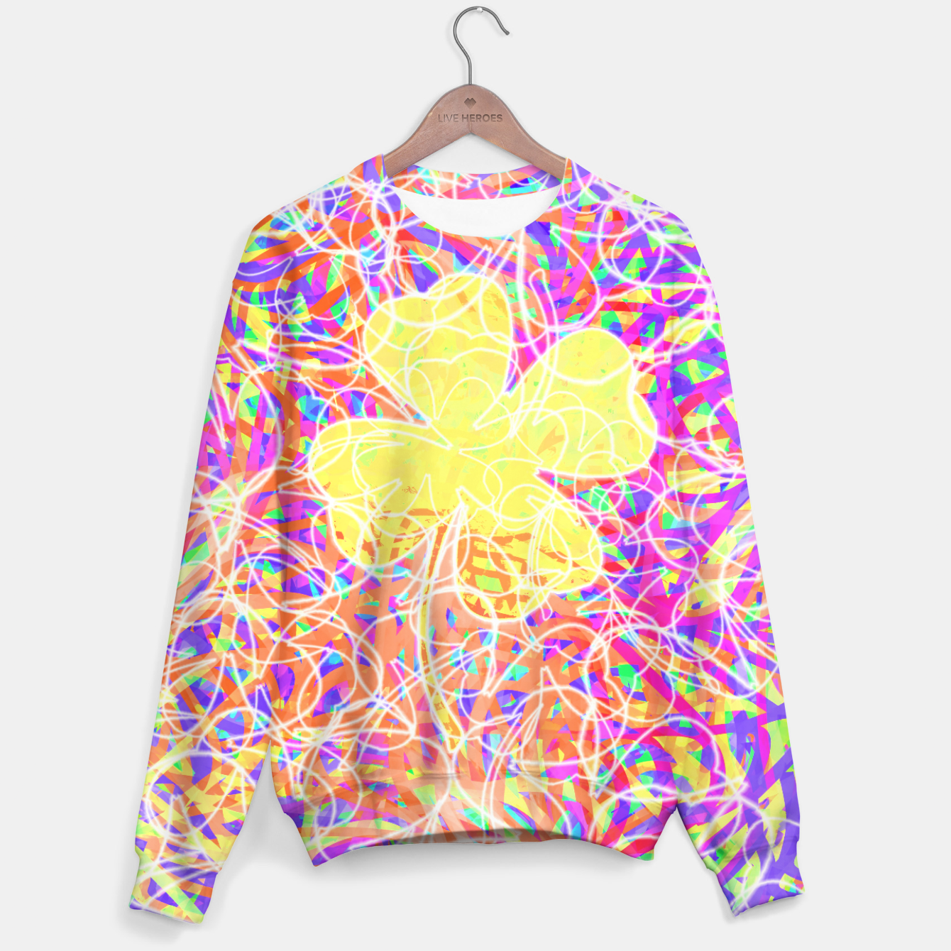 Image of clvr Sweater - Live Heroes