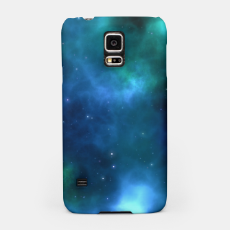 Blue Turquoise Galaxy  Samsung Case thumbnail image