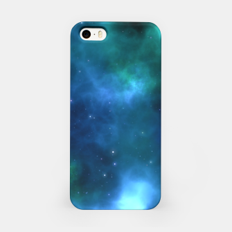Thumbnail image of Blue Turquoise Galaxy  iPhone Case, Live Heroes