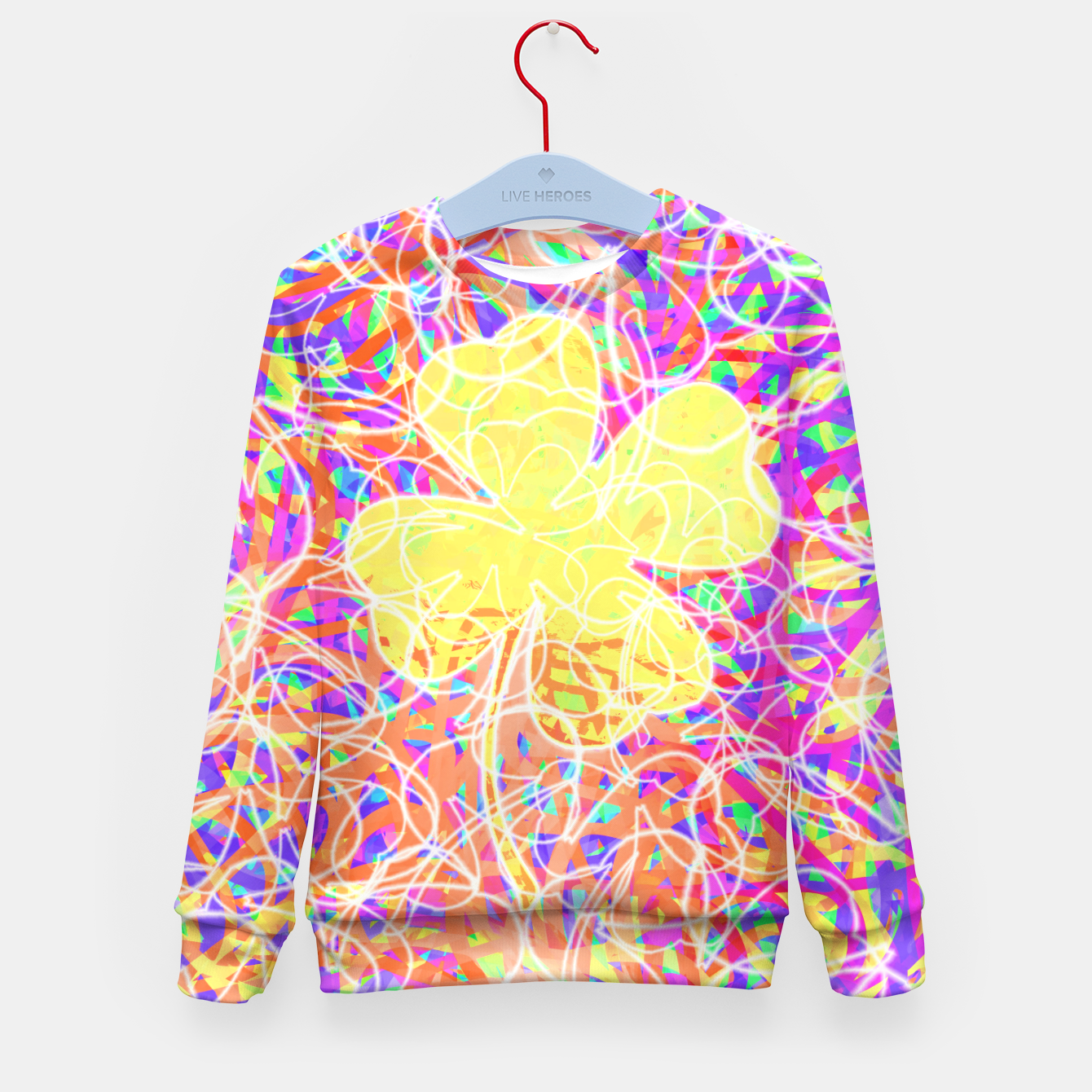 Image of clvr Kid's Sweater - Live Heroes