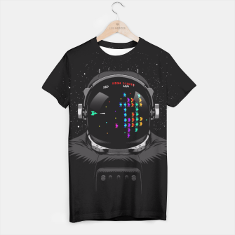 Thumbnail image of Martians astronaut Camiseta, Live Heroes