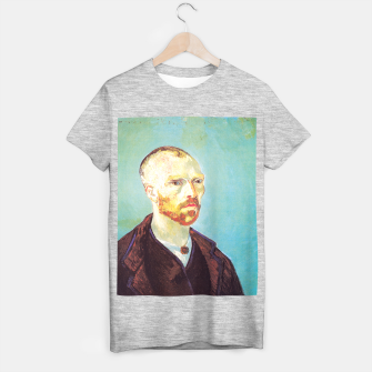 Miniatur Vincent van Gogh-dedicated to Paul Gauguin T-shirt regular, Live Heroes