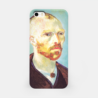 Miniatur Vincent van Gogh-dedicated to Paul Gauguin iPhone Case, Live Heroes