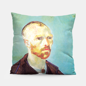 Miniatur Vincent van Gogh-dedicated to Paul Gauguin Pillow, Live Heroes