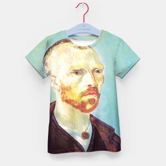 Miniatur Vincent van Gogh-dedicated to Paul Gauguin Kid's T-shirt, Live Heroes