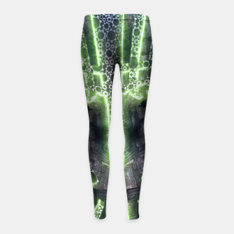 Thumbnail image of Time Girl's Leggings, Live Heroes