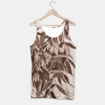 Thumbnail image of Ash-tree in brownscale Tank Top, Live Heroes