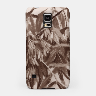 Thumbnail image of Ash-tree in brownscale Samsung Case, Live Heroes