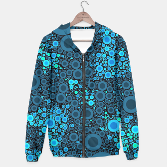 Thumbnail image of Blue Turquoise Abstract  Hoodie, Live Heroes