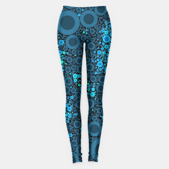 Thumbnail image of Blue Turquoise Abstract  Leggings, Live Heroes