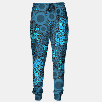 Thumbnail image of Blue Turquoise Abstract  Sweatpants, Live Heroes