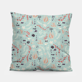 Thumbnail image of Underwater animals 001 Pillow, Live Heroes