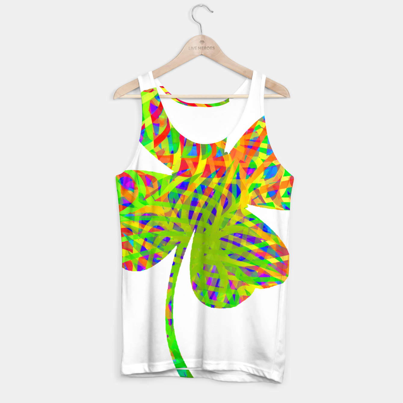 Image of clvr Tank Top - Live Heroes