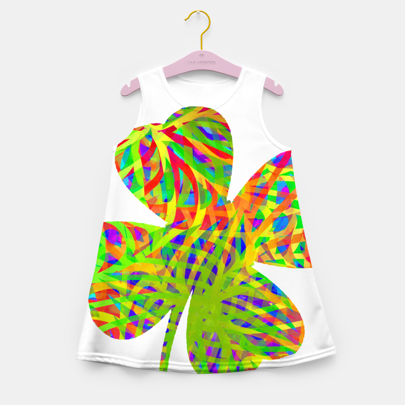 Image of clvr Girl's Summer Dress - Live Heroes