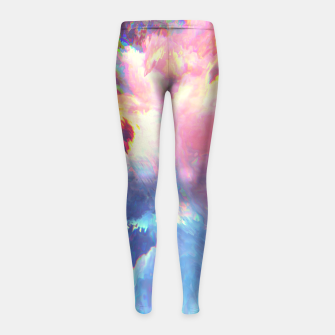 Thumbnail image of Mood Girl's Leggings, Live Heroes