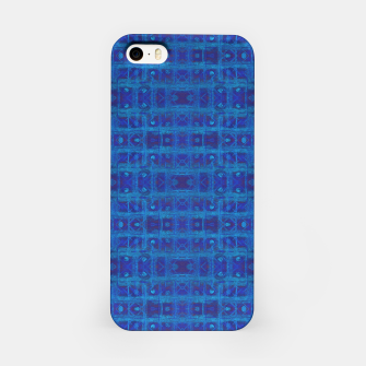 Thumbnail image of Blue Sapphire Weave iPhone Case, Live Heroes