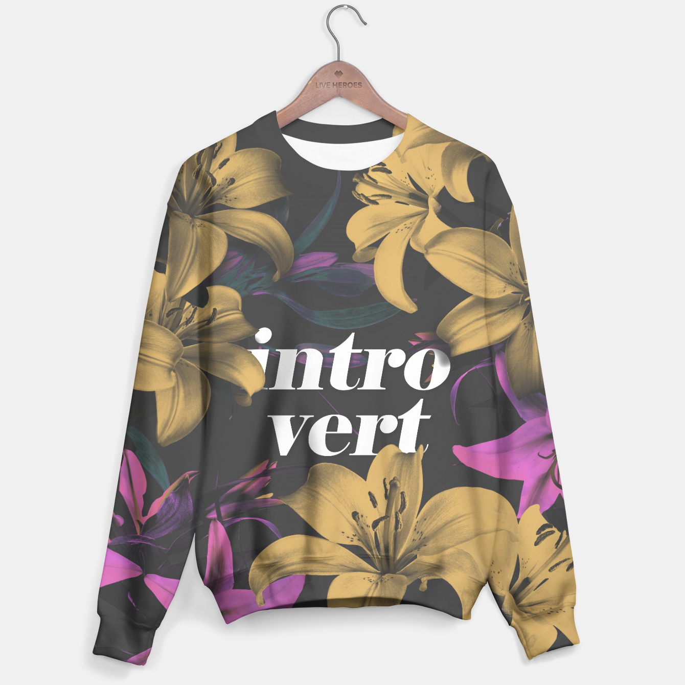 Image of Introvert Sweater - Live Heroes