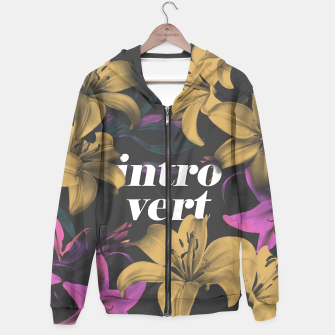 Thumbnail image of Introvert Hoodie, Live Heroes