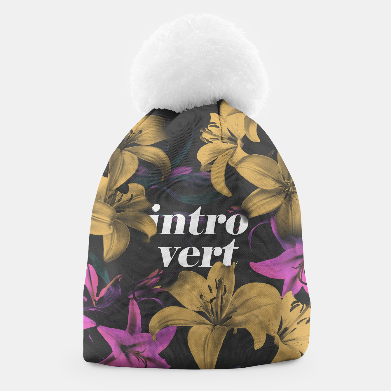 Image of Introvert Beanie - Live Heroes