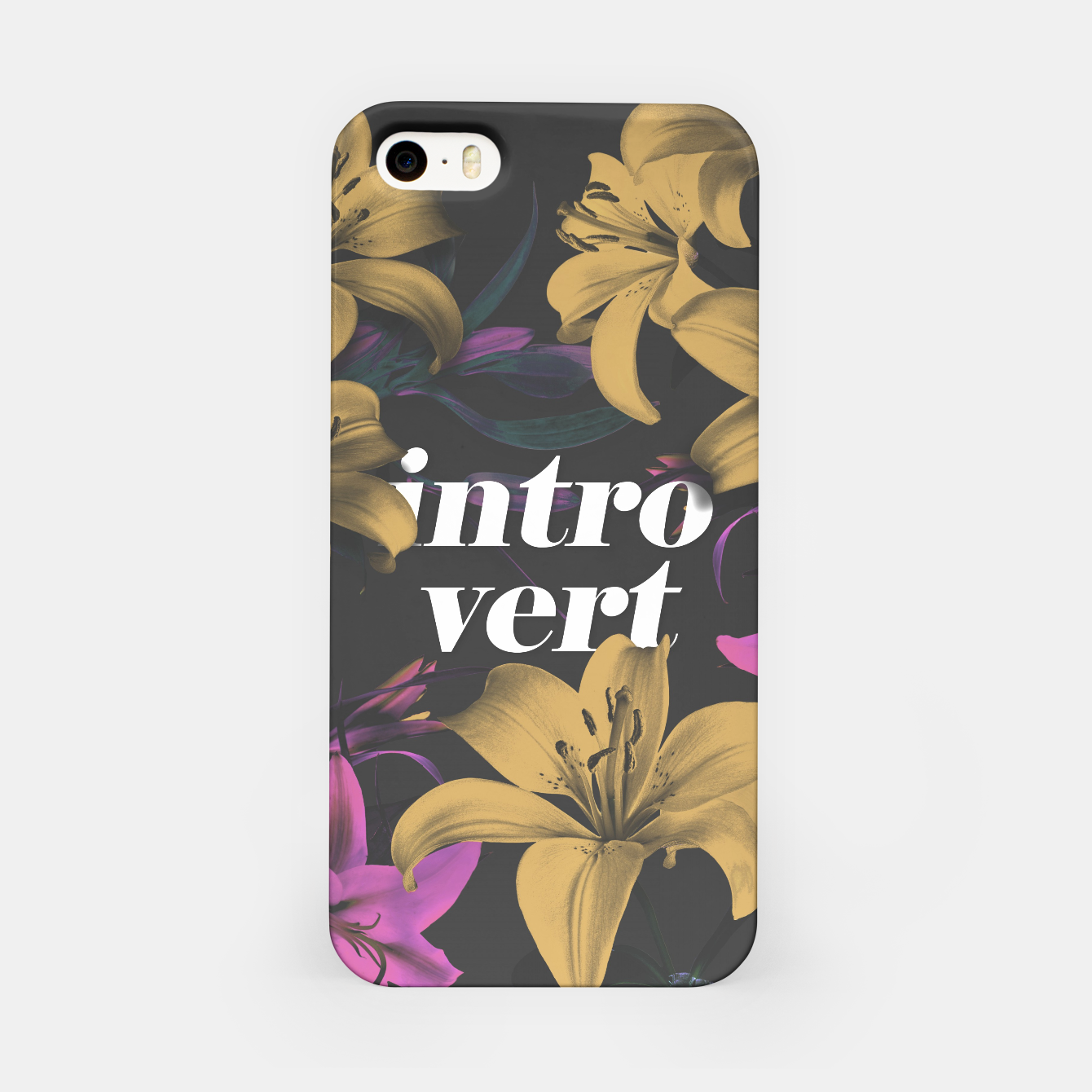 Image of Introvert iPhone Case - Live Heroes