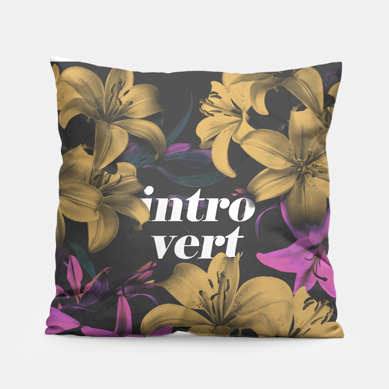 Image of Introvert Pillow - Live Heroes