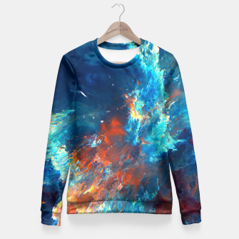 Thumbnail image of Catch Me Fitted Waist Sweater, Live Heroes