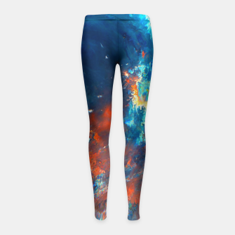 Thumbnail image of Catch Me Girl's Leggings, Live Heroes