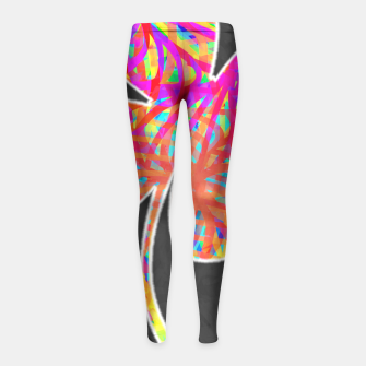 Thumbnail image of clvr Girl's Leggings, Live Heroes