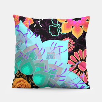 Thumbnail image of ABSTRACT GARDEN. TURQUOISE Almohada, Live Heroes