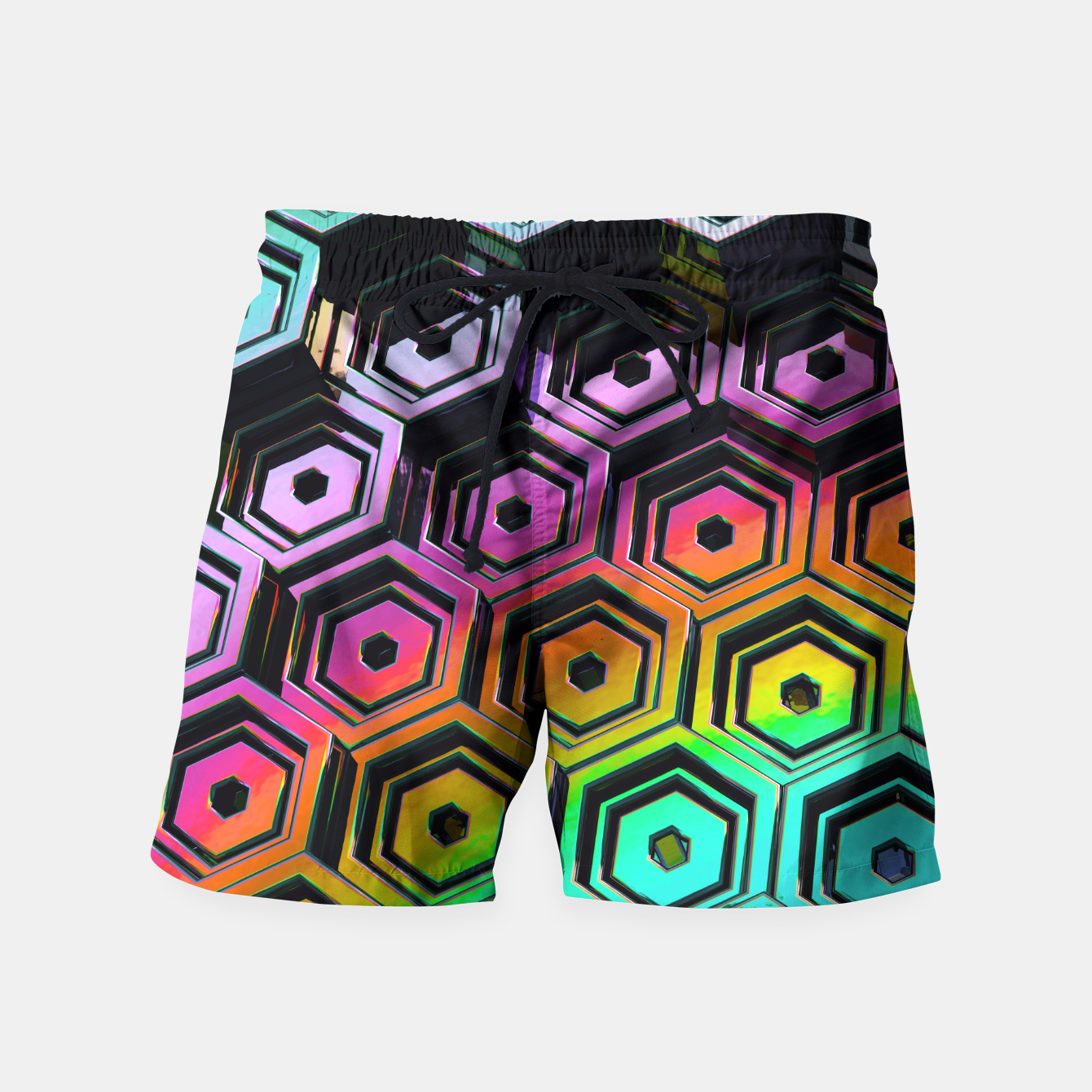 Image of Hexa Swim Shorts - Live Heroes