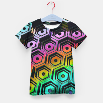 Thumbnail image of Hexa Kid's T-shirt, Live Heroes
