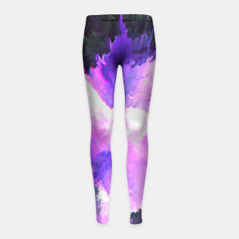 Thumbnail image of End of the Night Girl's Leggings, Live Heroes