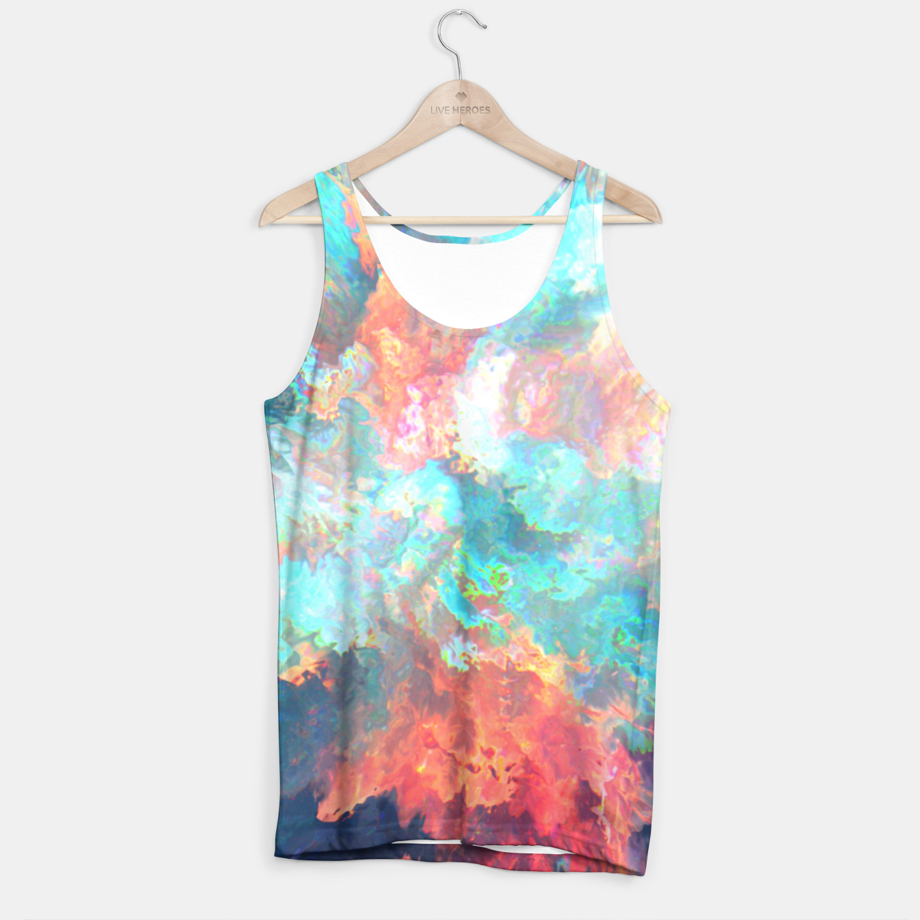Image of Shot Down Tank Top - Live Heroes