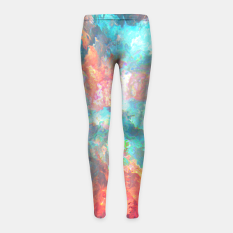 Thumbnail image of Shot Down Girl's Leggings, Live Heroes