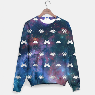 Thumbnail image of Retro Invaders Sweater, Live Heroes