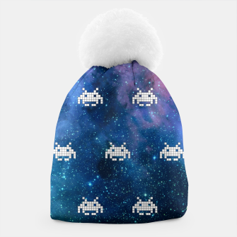 Thumbnail image of Retro Invaders Beanie, Live Heroes