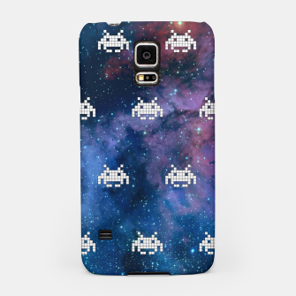 Thumbnail image of Retro Invaders Samsung Case, Live Heroes