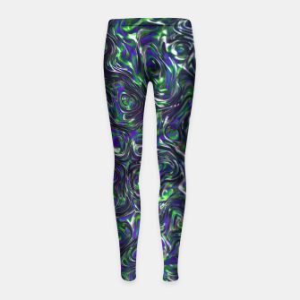 Thumbnail image of Swirl Girl's Leggings, Live Heroes