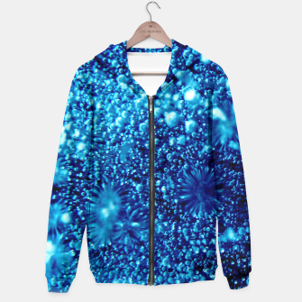 Miniaturka Beautiful blue sparkles Frozen bubbles Hoodie, Live Heroes