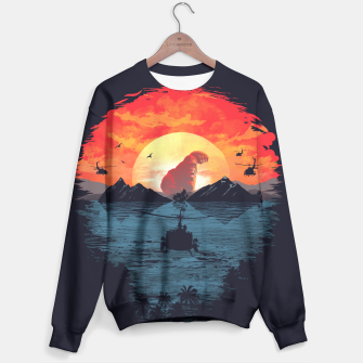 Thumbnail image of Skull Island Sweater, Live Heroes