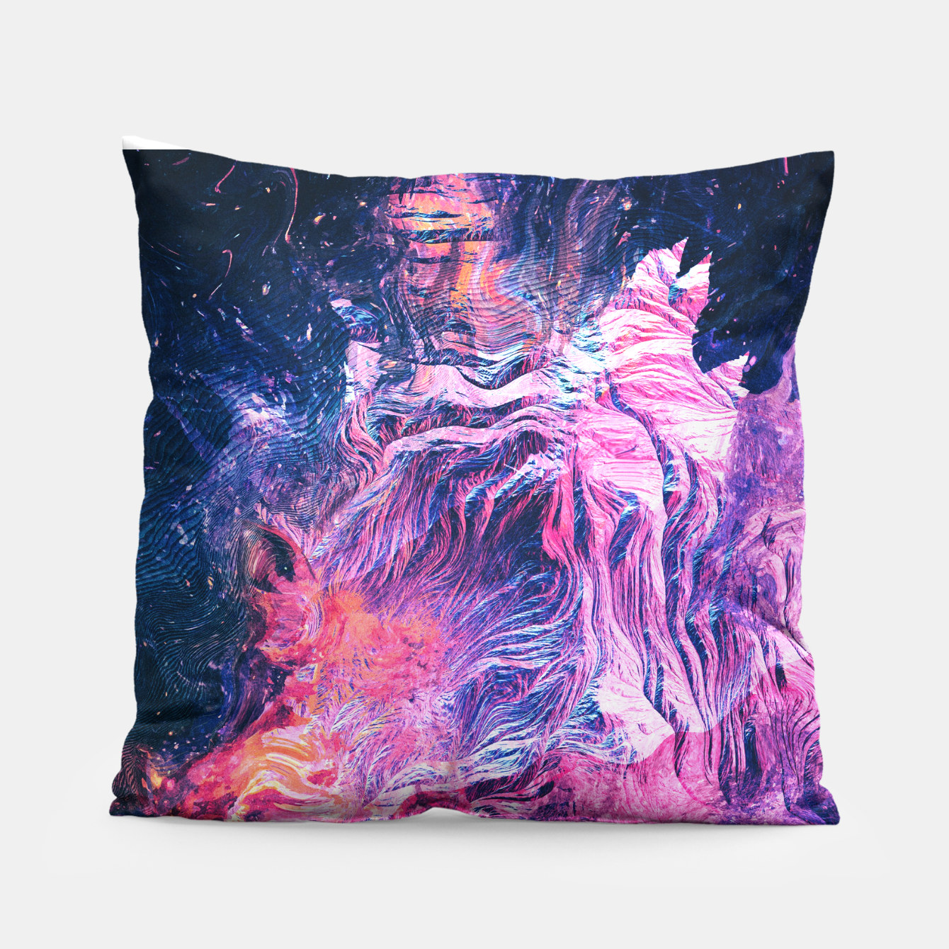 Image of Near Dark Pillow - Live Heroes