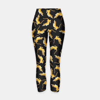 Thumbnail image of Tiger Yoga Pants, Live Heroes