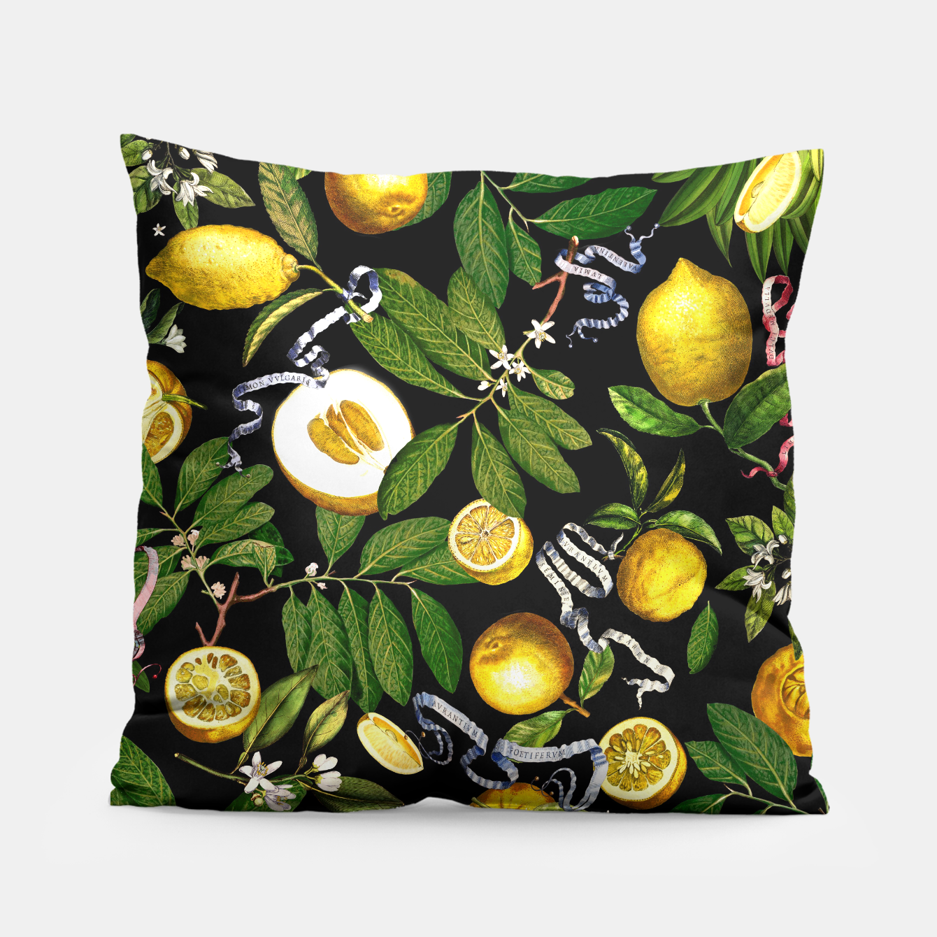 Image of Lemon Tree Pillow - Live Heroes