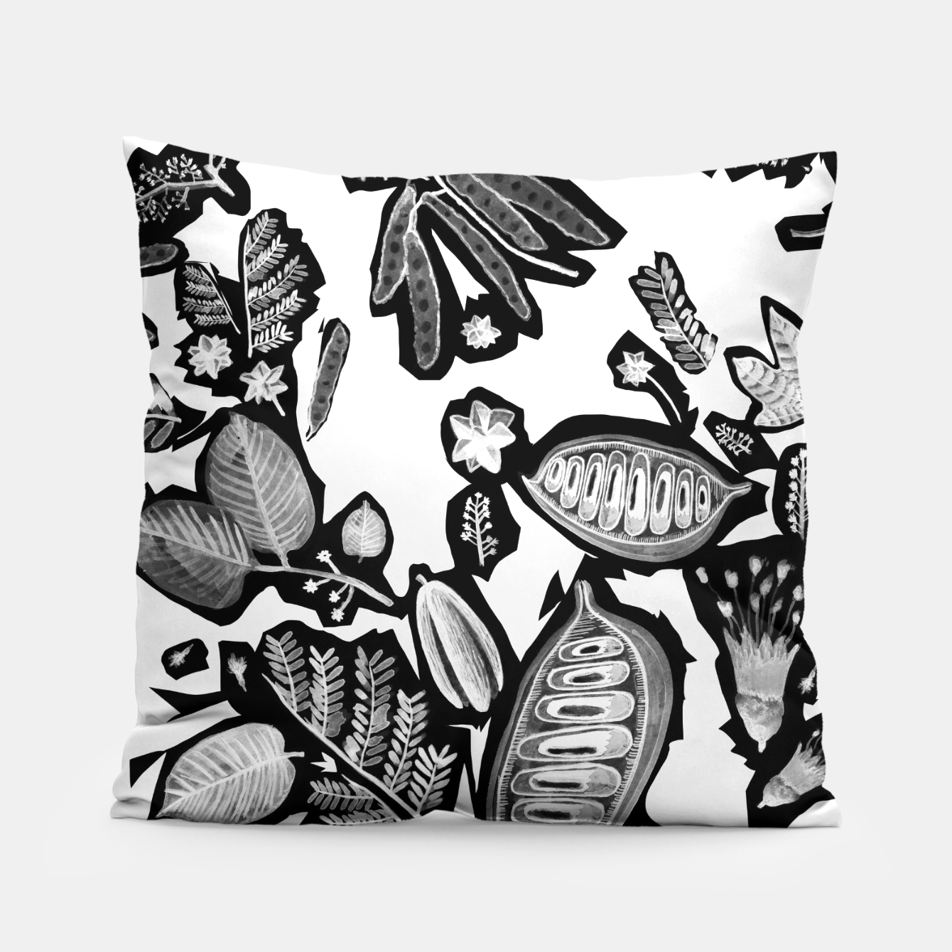 Image of Flora Pillow - Live Heroes